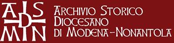 Archivio Diocesano Modena Nonantola