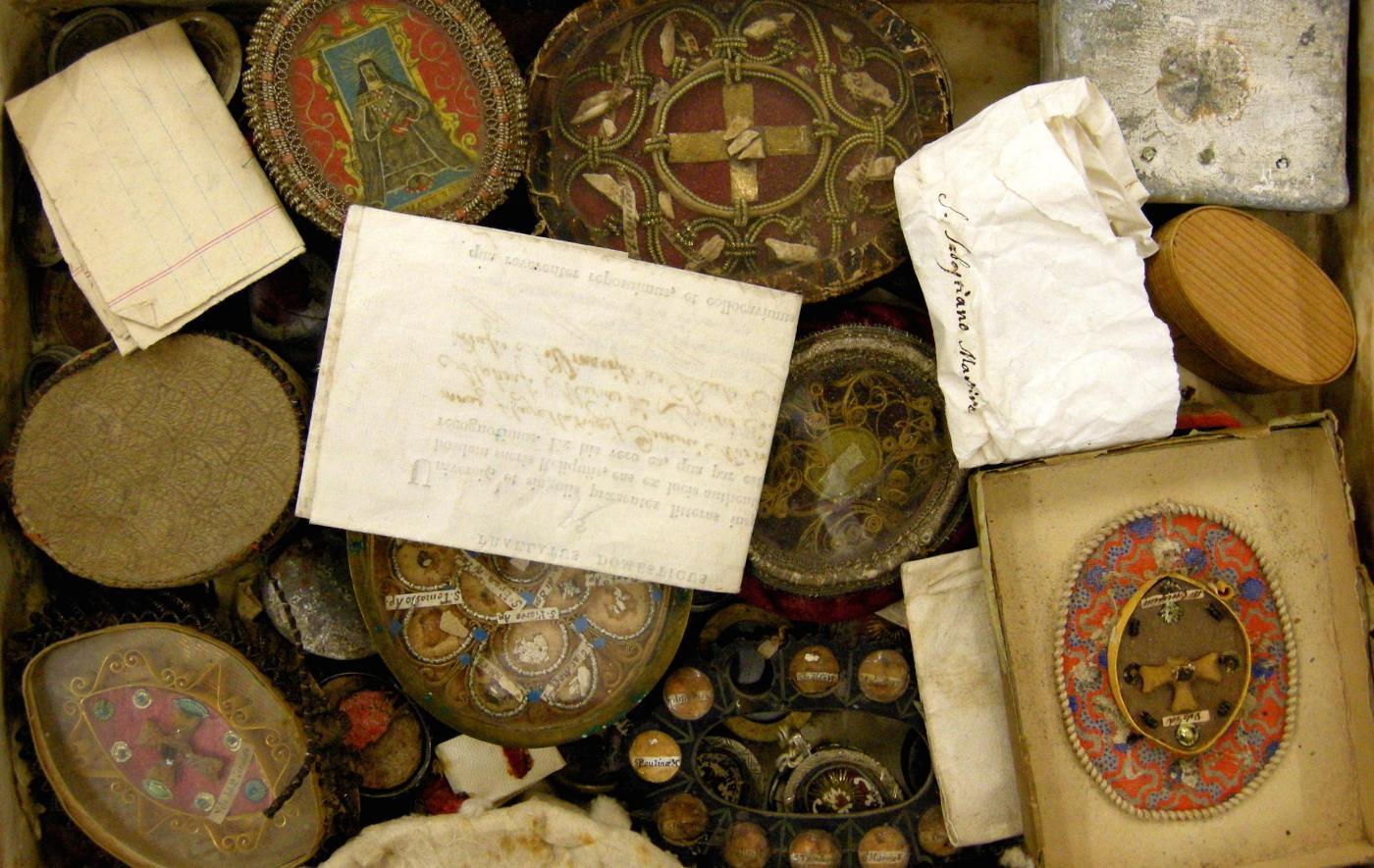 Reliquie (Raccolte dell'Archivio Diocesano)